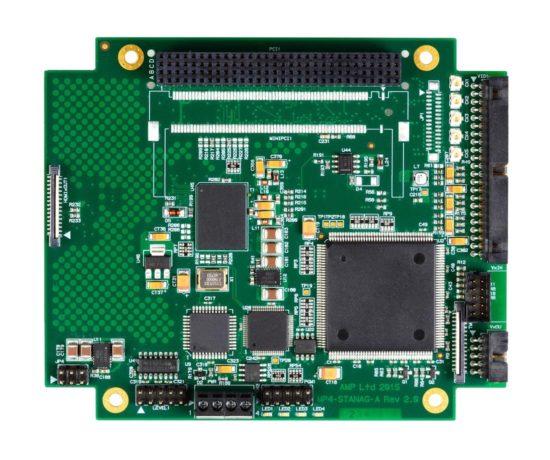 PAL/NTSC/RS-170 to STANAG3350 video converter